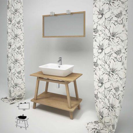 Natural Bathroom Furnitures2- Από την zebis.gr