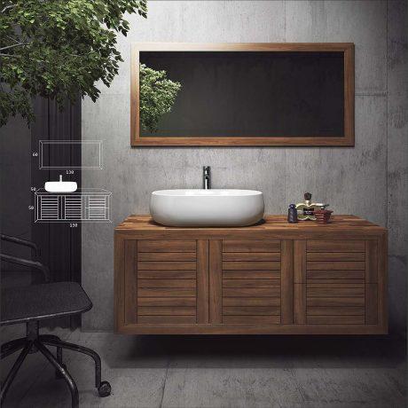 Natural Bathroom Furnitures4 - Από την zebis.gr