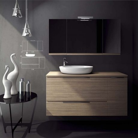 Smile Bathroom Furniture 004 - Από την zebis.gr